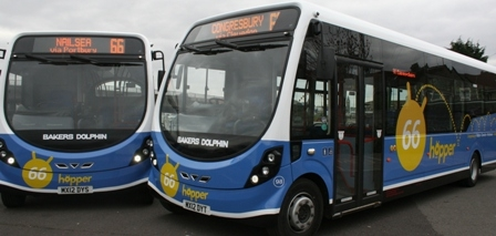 New Buses for North Somerset Routes