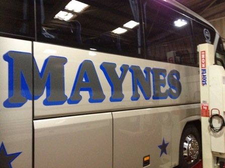 Maynes go up in the world