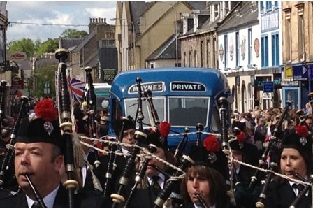 Maynes Coaches join in Queens Diamond Jubilee celebrations